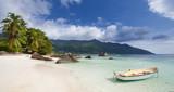 Plage paradisiaque de Beau Vallon, Seychelles © Prod. Numérik