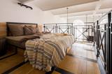Mezzanine bedroom with double bed - 219118279
