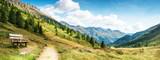 panorama montano delle dolomiti - 219138230