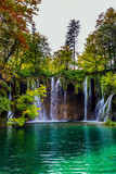 The karst Plitvice Lakes