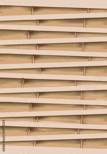 old dry bamboo background