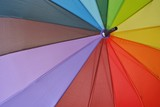Fototapeta Rainbow - Tęczowy parasol © bnorbert3