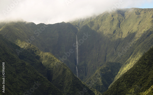 A View of Honokohau Falls, Maui's Tallest Waterfall, Hawaii - 219160418