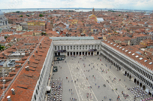 Piazza San Marco (from Campanile)
