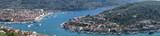 Aerial view of Vela Luka on Korcula, Salmatia, Croatia - 219177628