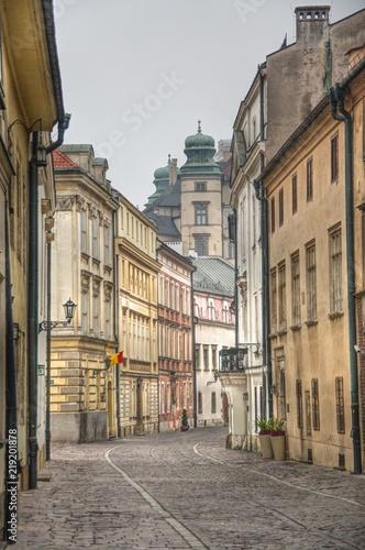 ulica Kanoniczna w Krakowie z widokiem na Wawel © Jarek Witkowski