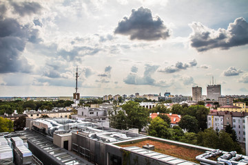 Panorama of the city of Lublin, Poland © teine