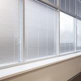 Window jalousie at modern office
