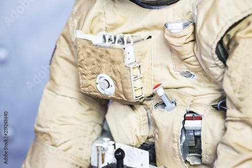Soviet space suit of astronaut - 219268640