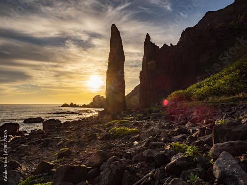 Foto Murales 礼文島 地蔵岩