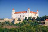 Medieval building of Bratislava Castle in Slovakia