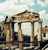 Roman Agora Ruins in Athens, Greece - 219283273