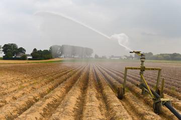arrosage eau secheresse agriculture 2018 été © JeanLuc