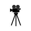 kamera na statywie ikona