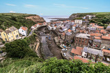 The North Yorkshire coastal villages of Staithes (right hand side)and Cowbar (left hand side). - 219324200