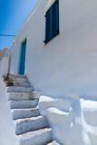 Lefkes village in Paros, Greece - 219327467