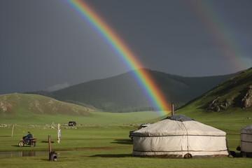 arcobaleno nella natura