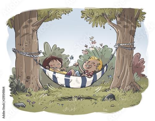 dzieciecy-odpoczynek-na-hamaku