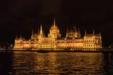 Budapest Parliament at Night - 219342644
