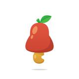 Cashew apple fruit vector - 219391034