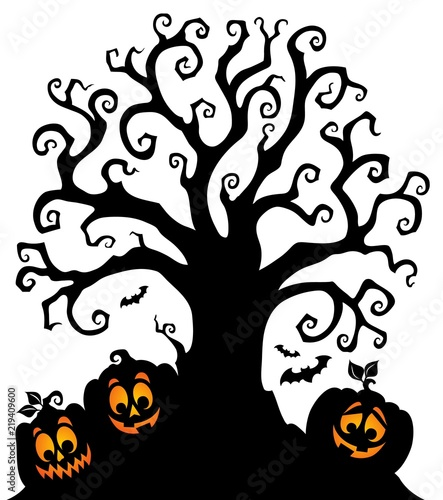 halloween tree silhouette topic 7