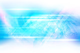 Arrow computer network digital communication. Abstract technology concept background. - 219418255