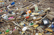 Pollution par les déchets flottants et plastiques sur les plages de la côte atlantique.