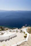 Stairs And Blue Sea, Santorini