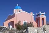 Pink Chapel, Santorini
