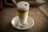my morning coffee latte