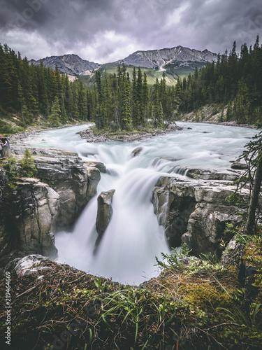 canadian waterfall - 219464669