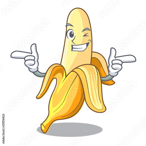 Five Photographs Of Banana In Seach Of >> Wink Character Banana In The Fruit Market Buy Photos Ap Images