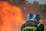 Pompier Français / French Firefighter - 219537813