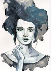 Portrait woman © bruniewska