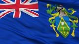 Islands City Flag, Country Pitcairn, Closeup View - 219549696