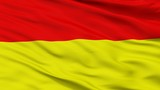 Wroclaw City Flag, Country Poland, Closeup View