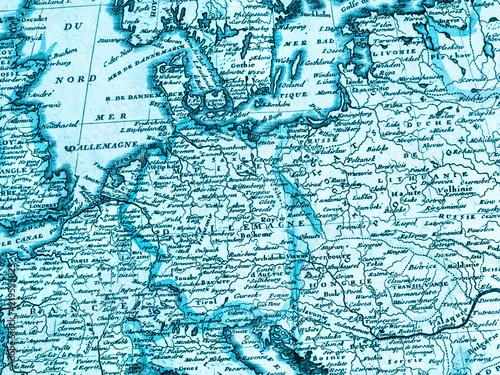Fototapeta 古地図 ヨーロッパ