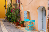 Village Cassis in Provence Cote d'Azur, Residential house outdoor sitting - 219583488