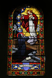 La Sainte Famille. Eglise Saint Jean-Baptiste. Les Houches. The Holy Family. Saint John the Baptist Church. The Houches.