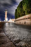 HDR night view in Saint Petersburg, Russia. - 219592403