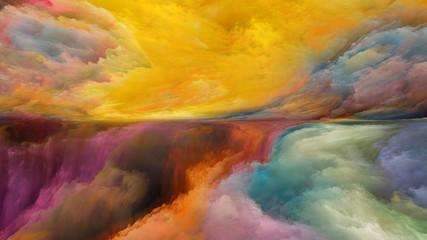 Inner Life of Abstract Landscape © agsandrew