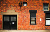 old urban brick building - 219632683