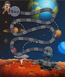 A space maze game - 219635826