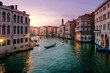 Gondola in the Grand Canal in Venice, Italy