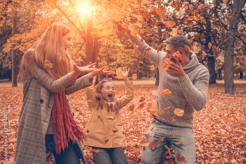 Jesienna zabawa