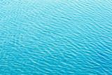 Shining blue wavy water surface ripple background - 219650456