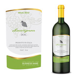 Vector wine label - 219662043