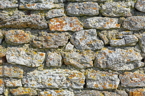 Stone Wall Background - 219665417