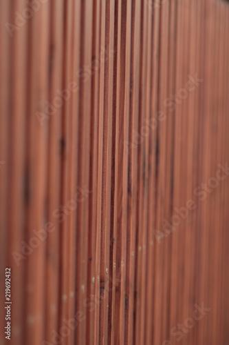 Traditionelles Holz Tor einer Garage - 219692432