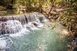Erawan waterfalls from above